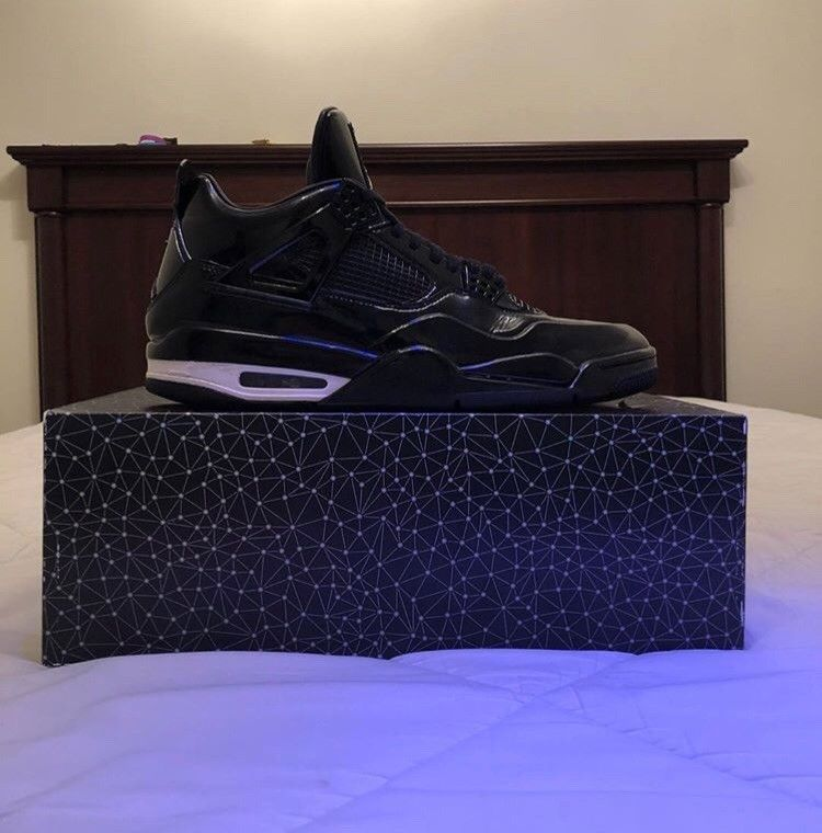 separation shoes 22e69 630a4 Nike Air Jordan IV 4 Retro 11Lab4 Black Patent Leather 719864-010 Size 11.5   fashion  clothing  shoes  accessories  mensshoes  athleticshoes (ebay link)