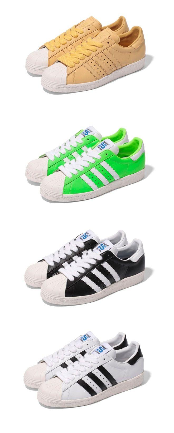 superstar 80s womens Green