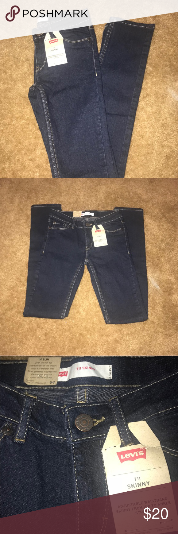 3b90734684a Children's Levi Skinny Jeans Brand new girls slim fit skinny jeans, with  adjustable waist band Levi's Bottoms Jeans