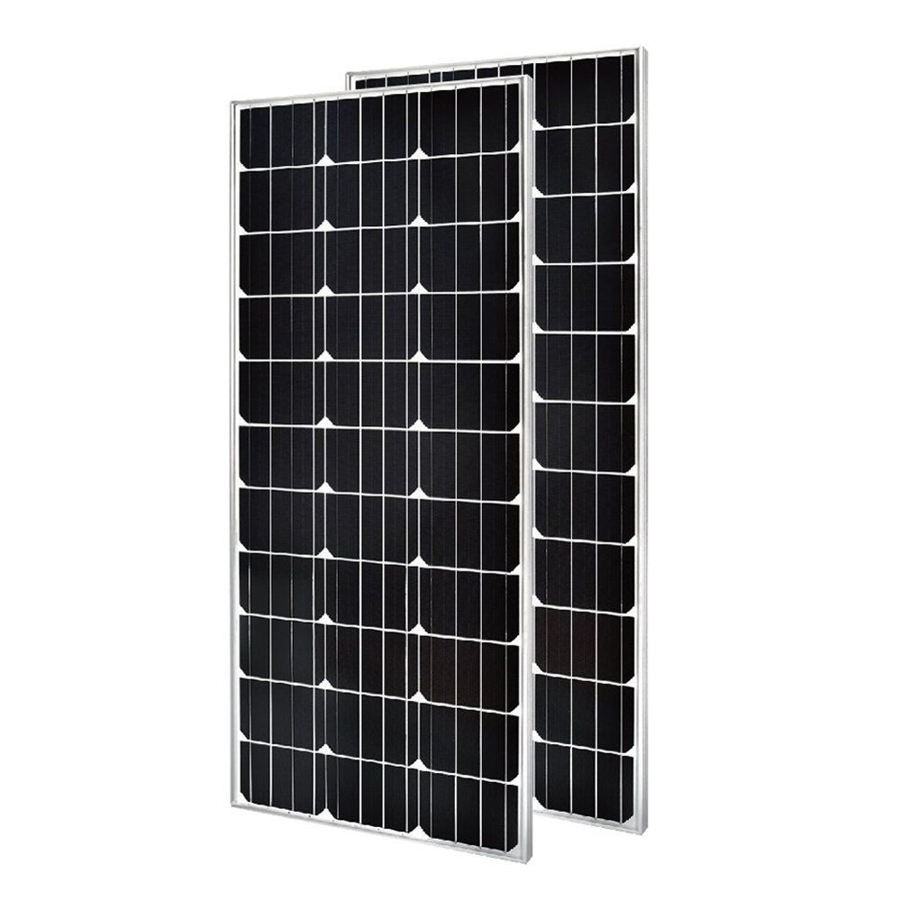 2 Pieces Of Hqst 100 Watt 12 Volt Monocrystalline Solar Panel Slim Design Amazon Com Solar Panels Monocrystalline Solar Panels Solar Design