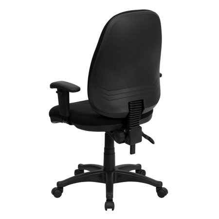 Ergonomic Computer Office Chair With Height Adjustable Arms Multiple Colors Black Products In 2019 Chair Swivel Chair Office Waiting Room Chairs