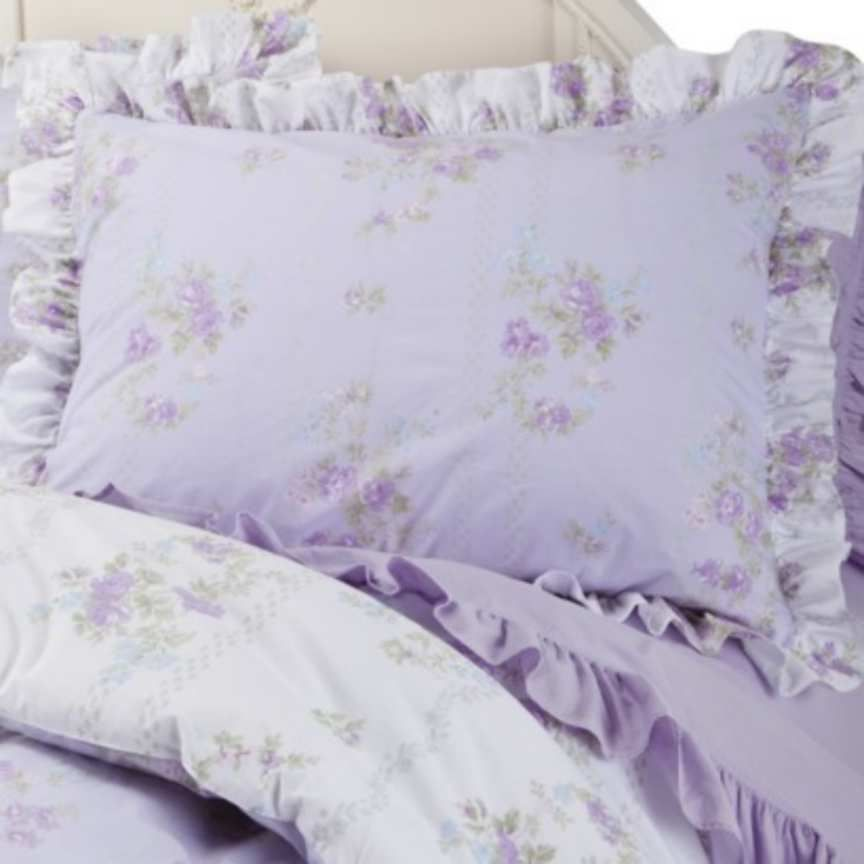 lavender shabby chic about simply shabby chicking comforter setashwell tiara