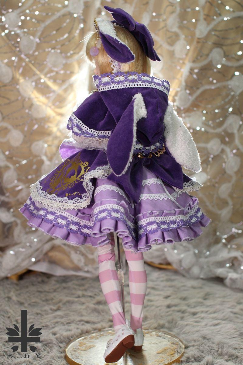 「桜本屋」お洋服 Cadbury Bunny ★ONE OFF★ -DOLLSHOW48 (JP48W-006) - Sakurahonya