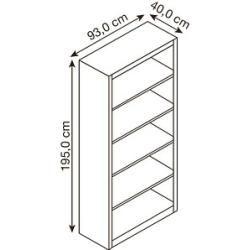 Photo of Steel shelves