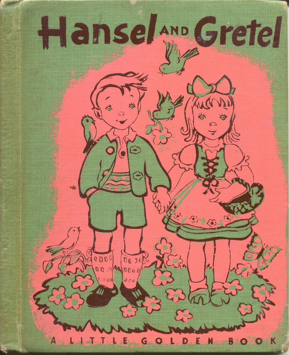 Little Golden Book, Hansel And Gretel, Childcraft Cloth