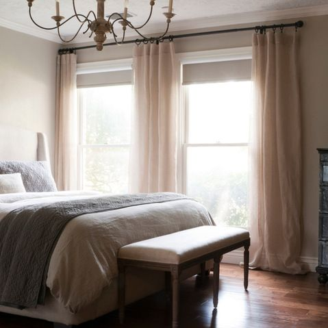 Grey Beige Curtains Design Ideas Pictures Remodel And Decor Page 5 Colors Transitional Bedroom Design Transitional Living Rooms Transitional Bedroom