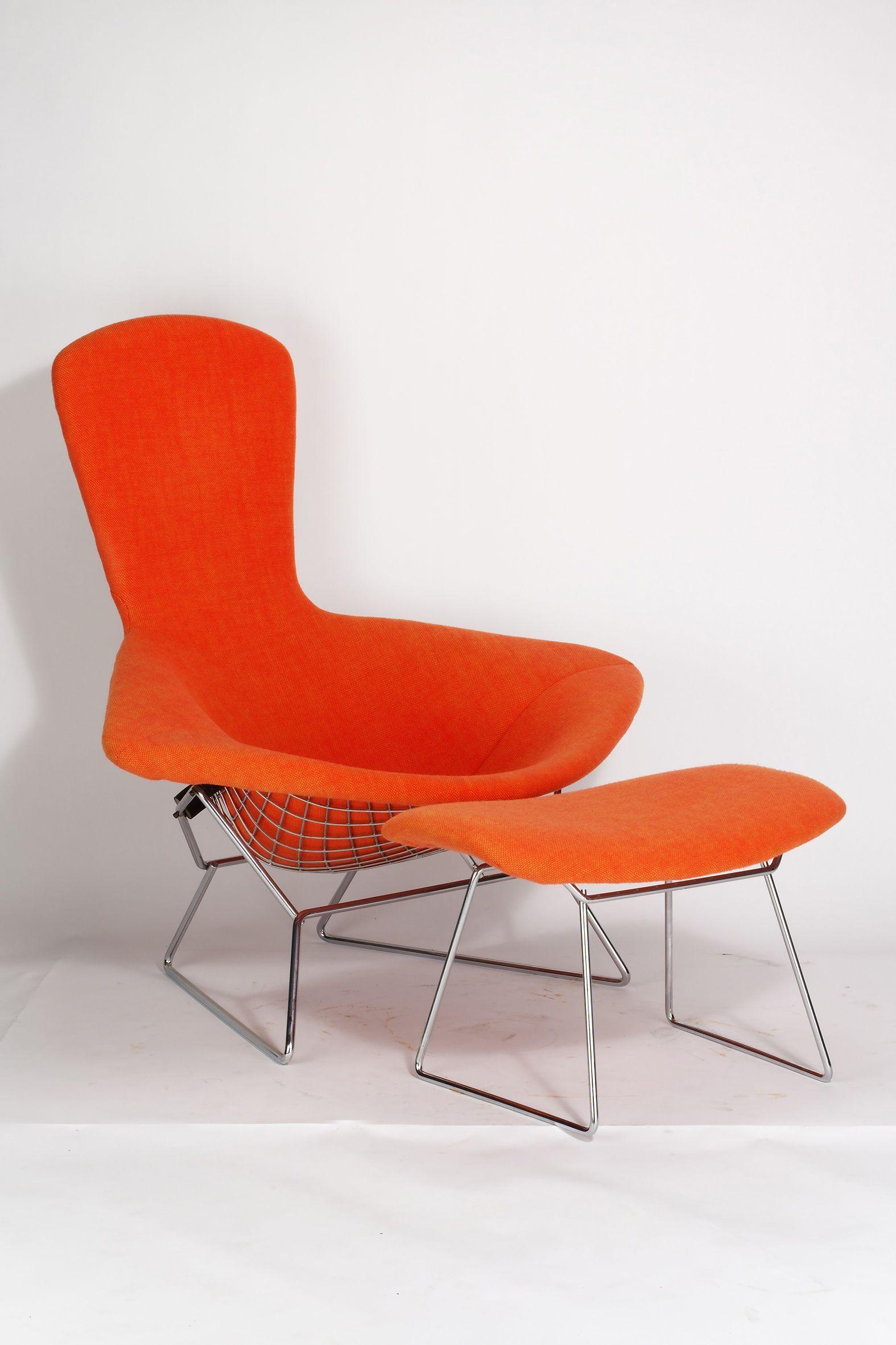 Harry Bertoia, Bird Chair Modell No. 423 Lu (1950 1952)