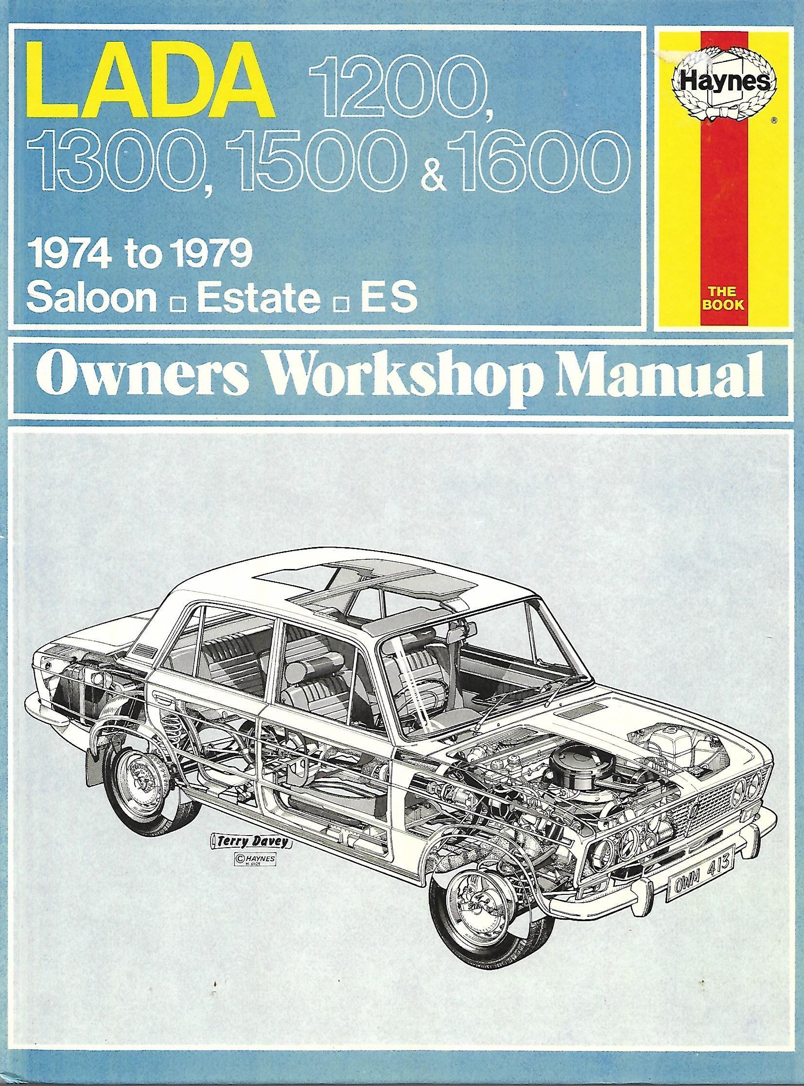 413 Lada 1200 1300 1500 1600 1974 1979 Workshop Manual Online Marketplace