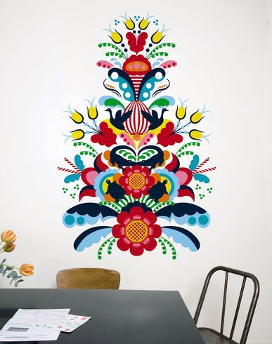 DOMESTIC - Deko | folk | Pinterest | Arte, Bordado und Arte abstracto