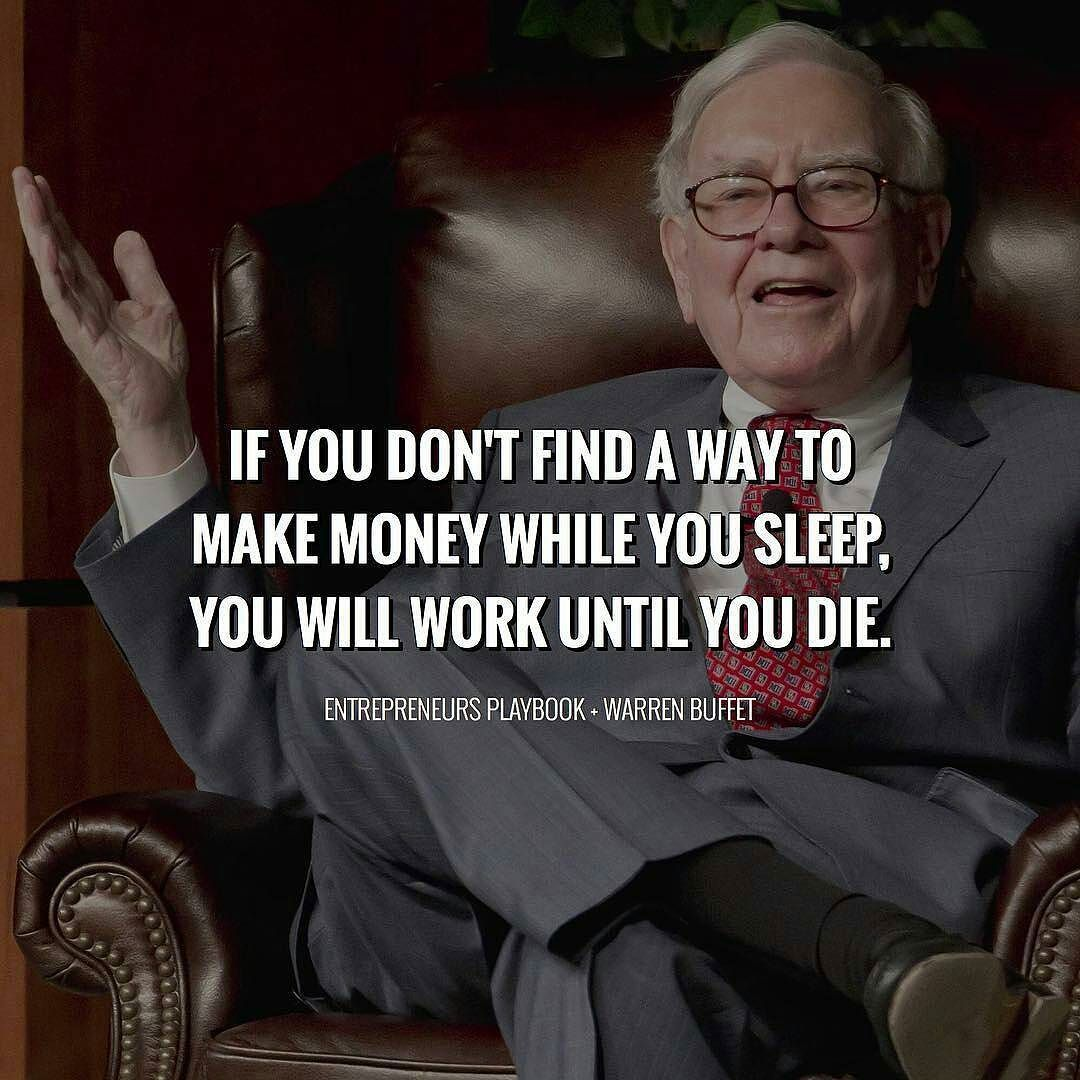 Motivational Business Quotes: Daily Quote By Warren Buffet.
