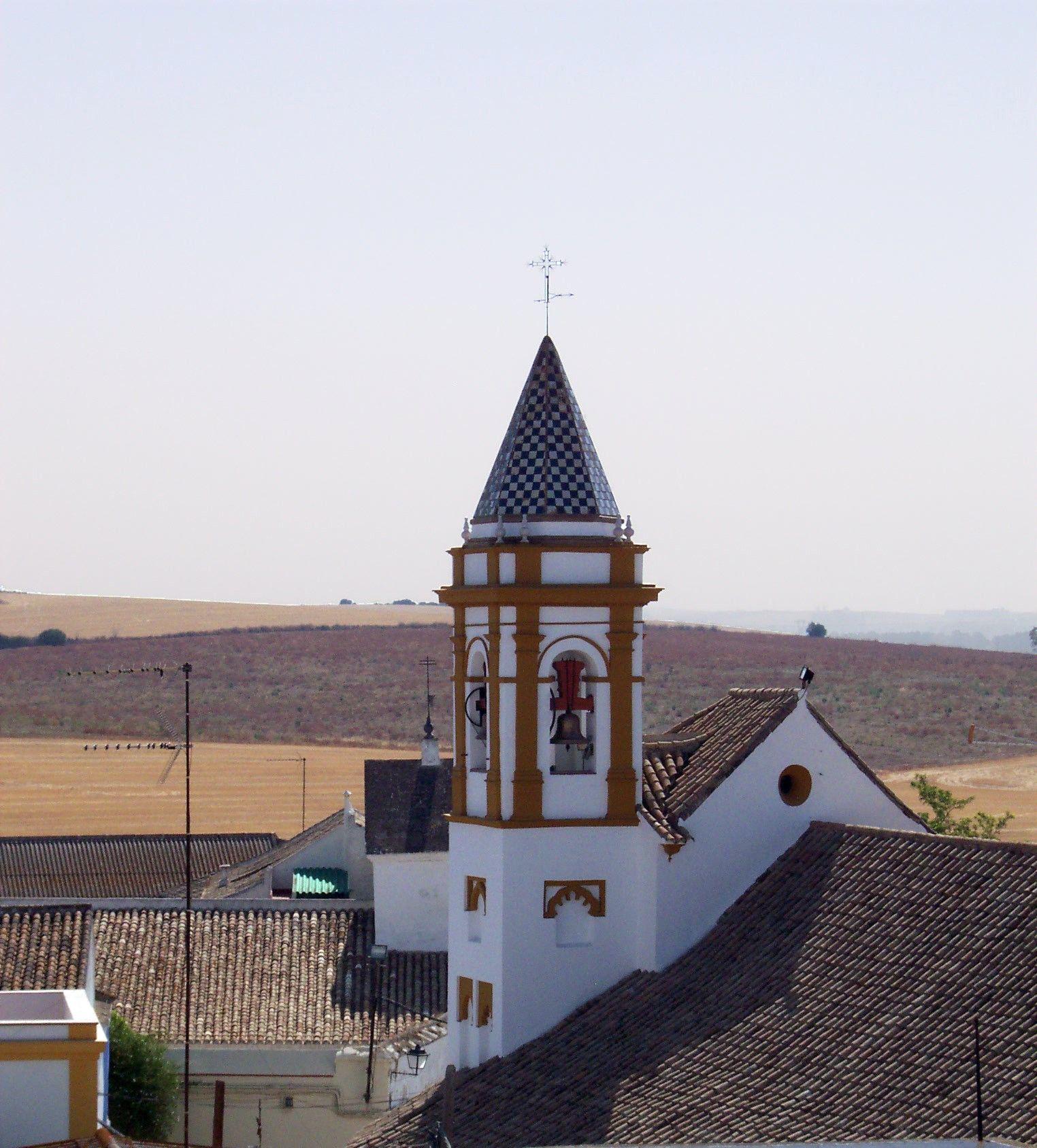 Campanario De La Iglesia De La Estrella En Palomares Del Río Iglesia Campanario Palomar