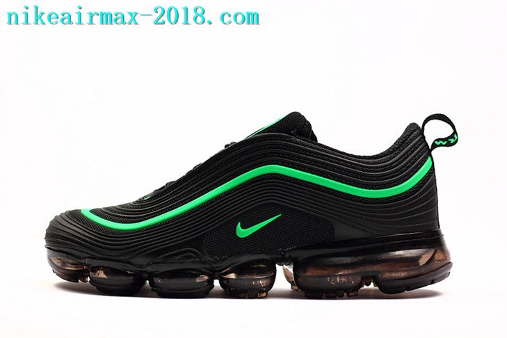 purchase cheap e4013 42f50 Nike Air VaporMax 97 KPU Mens Sneakers For 2018 Black Green