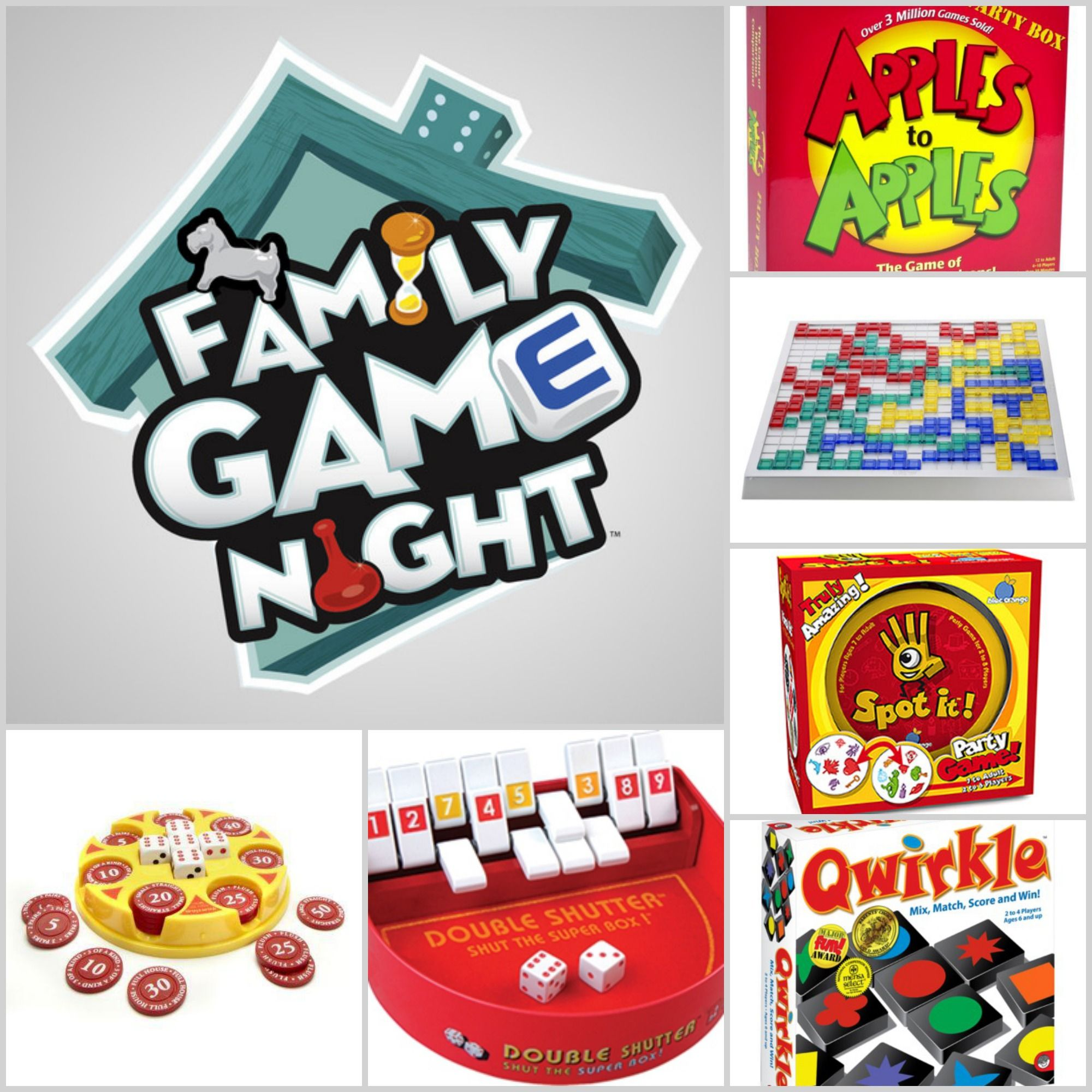 Great Ideas For Family Game Night We Do Family Game Night Gifts