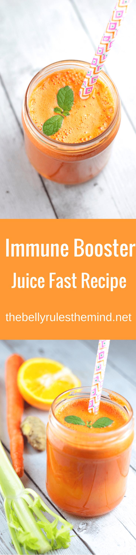 Immune Booster Juice #juicefast