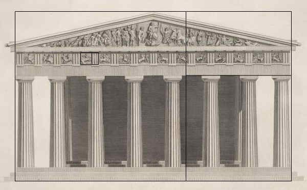 Greek Architecture Drawings The Parthenon, ...