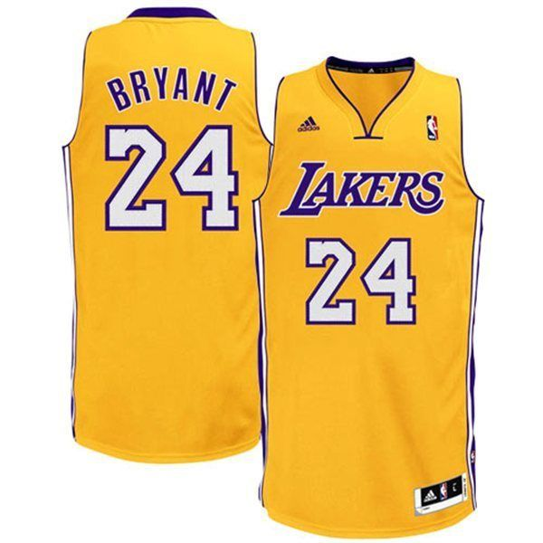 Camiseta Kobe Bryant 24. Los Angeles Lakers Amarillo. www.basketspirit.com  camisetas-NBA-NCAA-pantalones Camiseta-Baloncesto 27a0edb1770