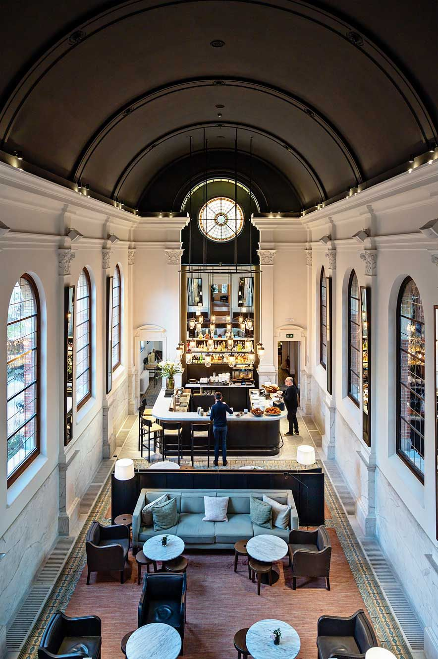 August Hotel In Antwerp A Luxurious Stay In A Former Convent Antwerp Classic Restaurant Modern Hotel