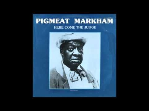 Here Comes The Judge Pigmeat Markham 1968 Hd Quality Youtube Here Comes The Judge Soul Music Rap Songs