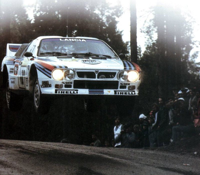 lancia rally car on pirellis famous flying tyres | cars for me