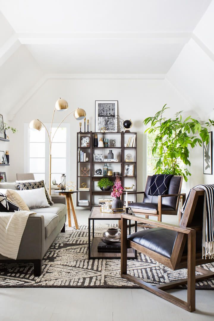 Safe Room Design: Bold Styling With Safe Neutrals (and Target)