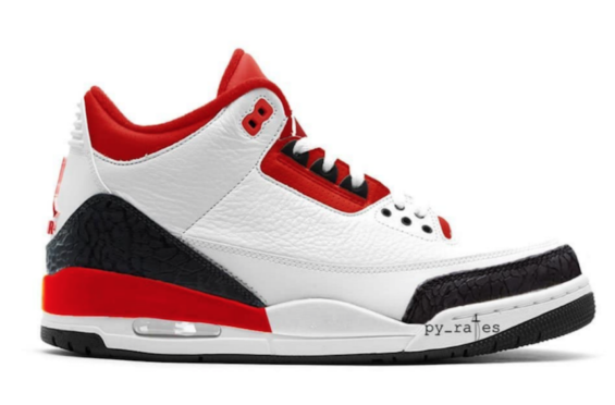 Air Jordan 3 JTH NRG Fire Red Is Expected To Release Spring 2018 Release  Date  f74cc945e