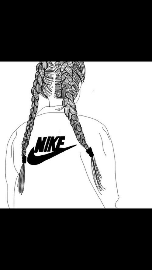 Outline Nike And Tumblr Image Tumblr Outlines Tumblr Outline