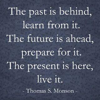 Past Future And Present By Thomas S Monson Mormon Prophet
