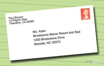 How To Address Envelopes With Attn A Formal Letter Addressing Envelopes Types Of Business Letter