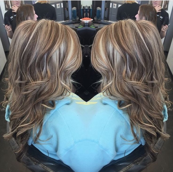 Trendy Hair Highlights Highlights Lowlights Brown Blonde