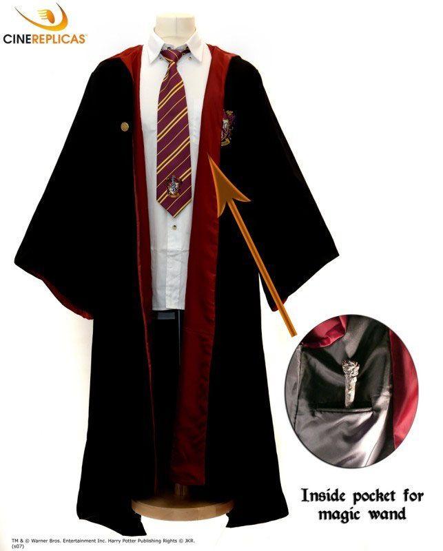 Harry Potter Robe Harry Zauberergewand Harry Gryffindor Zauberergewand Potter Gryffindor Robe N0nwOmv8