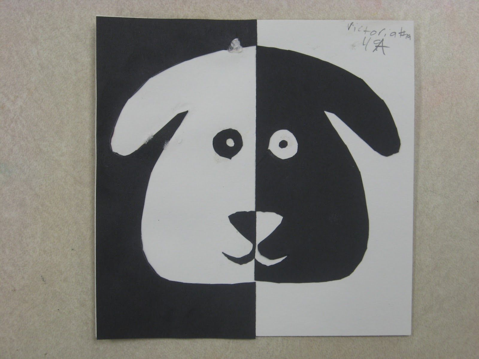 Elementary Art Lessons Positive Negative Space