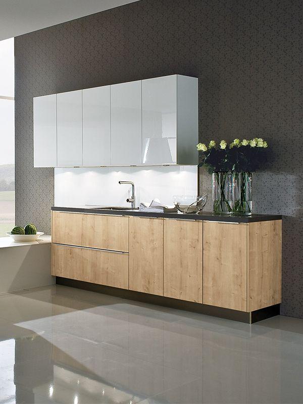 Die schöne Küche vereint Gegensätze und ist etwas für alle, die - arbeitsplatte küche eiche