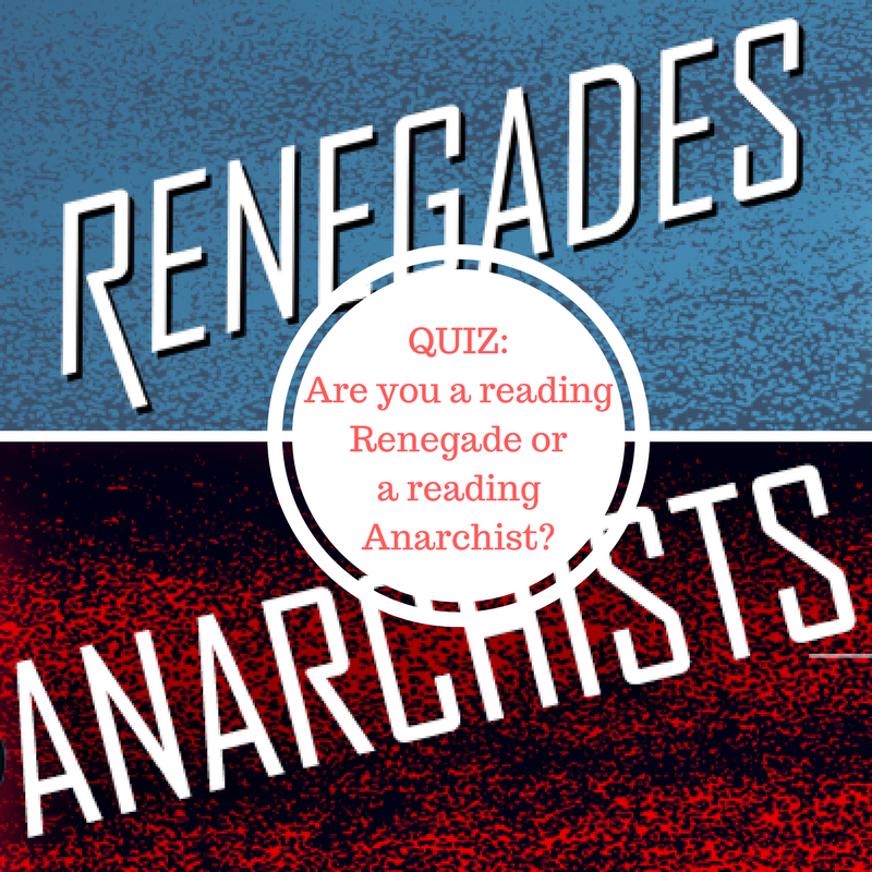 Are You A Reading Renegade Or A Reading Anarchist Jen Ryland Reviews Book Jokes Book Quizzes Marissa Meyer Books