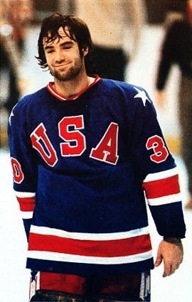 Jim Craig 80 Team Usa Hockey Usa Hockey Jim Craig