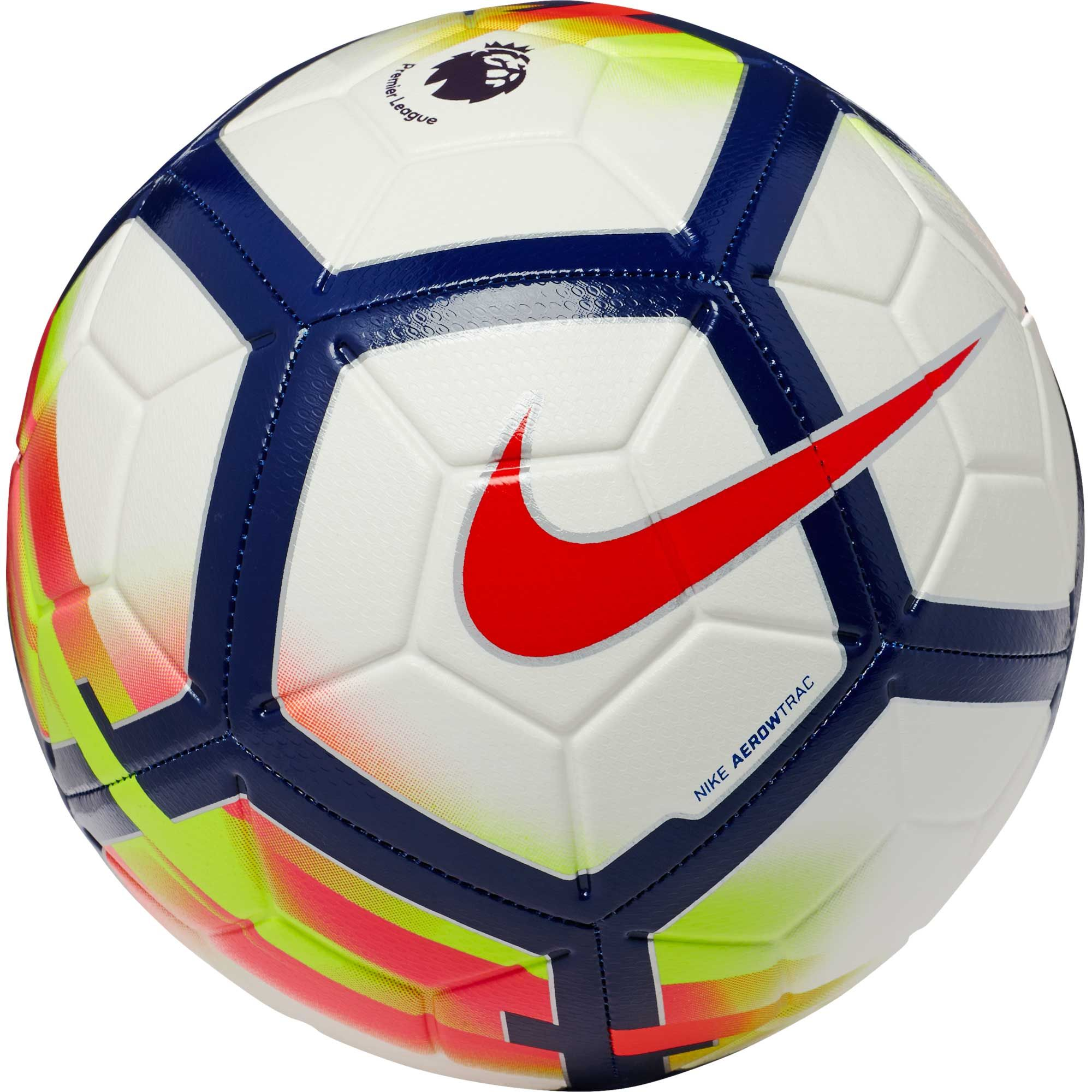Nike Strike Soccer Ball Premier League White Crimson Nike Soccer Ball Soccer Ball Premier League Soccer