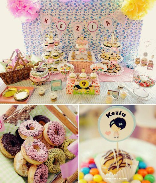 harajuku lovers birthday party ideas - Someone Decorating For A Party