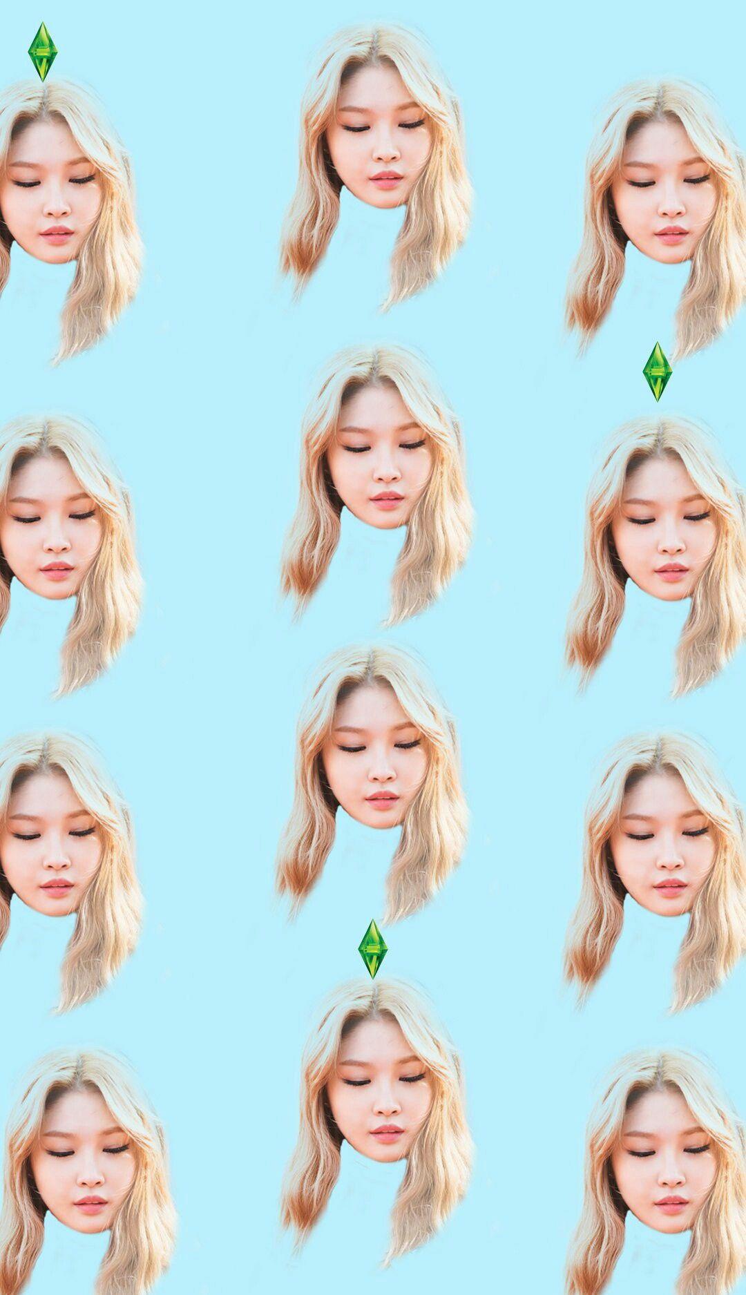 Chung Ha Face Meme Kpop Wallpaper Lockscreen Hd Fondo De