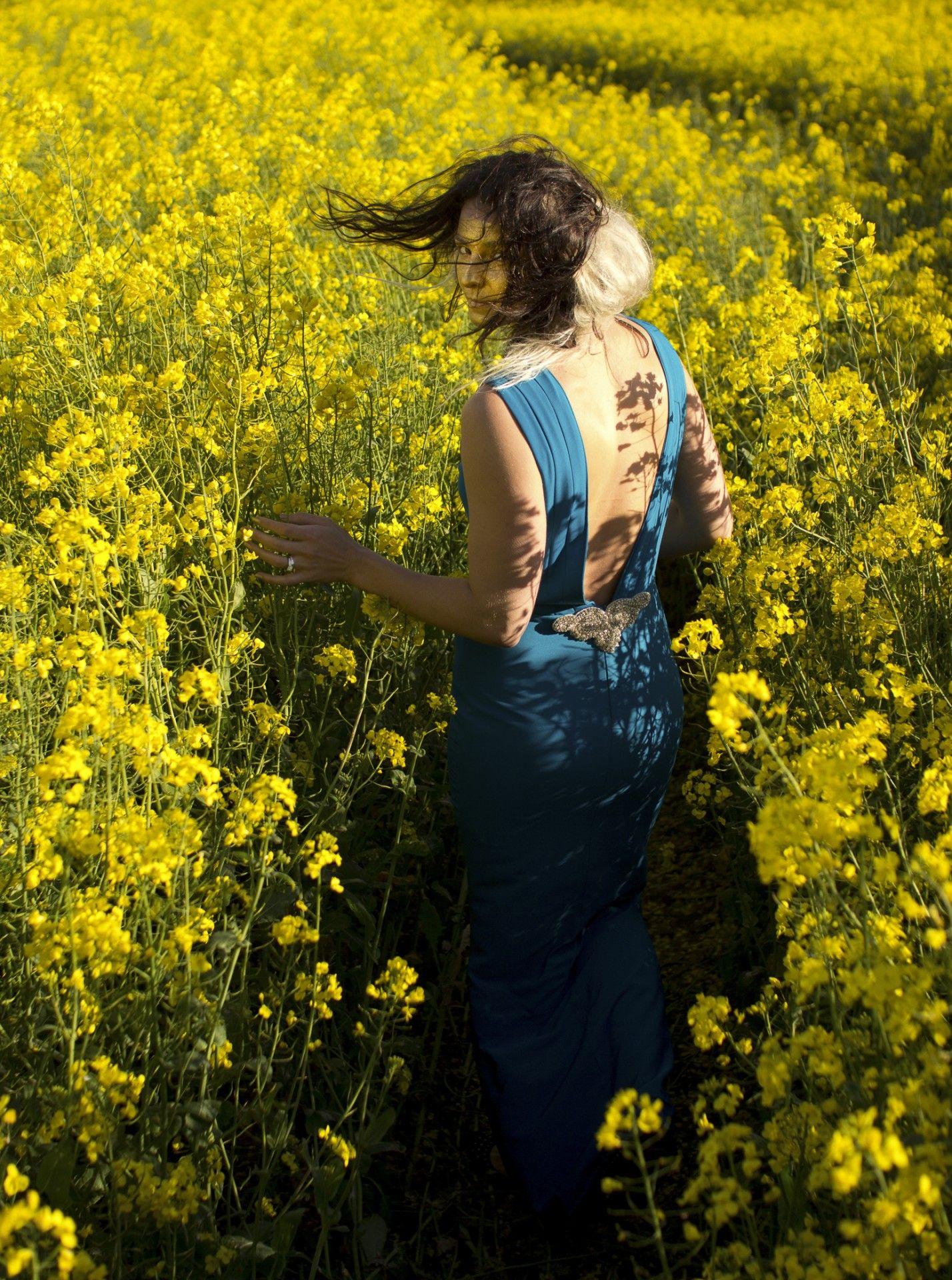 Fields of Gold shoot Model: Keri-Anne Payne Styling: Lynne McCrossan Photographs: Seb Singh