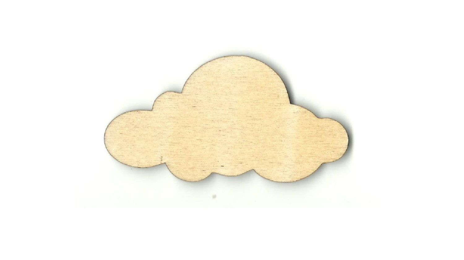 Unfinished wood craft pieces - Cloud Laser Cut Unfinished Wood Shapes Variety Of Sizes Craft Supply Diy Sky26