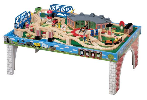 Learning Curve Thomas Train Table u0026 Roundhouse Train Set Christmas Present  sc 1 st  Pinterest & Thomas the Train Play Board | Learning Curve Thomas The Tank Engine ...