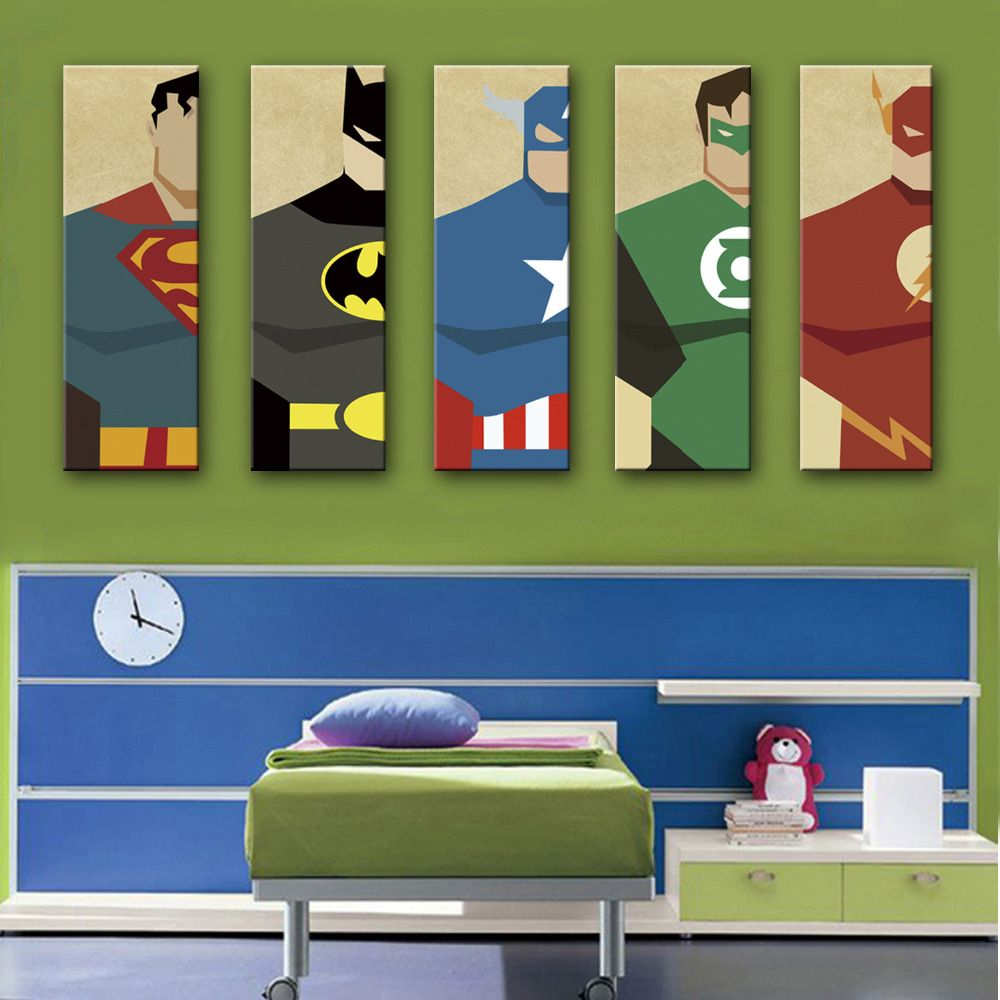 Superhero Home Decor Decorating Ideas