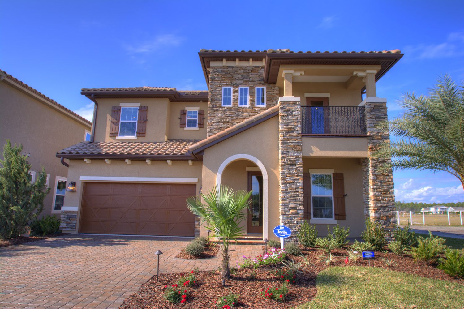 The Seville Model by ICI Homes in Siena at Town Center of ... on beazer homes design center, shea homes design center, ryland homes design center,