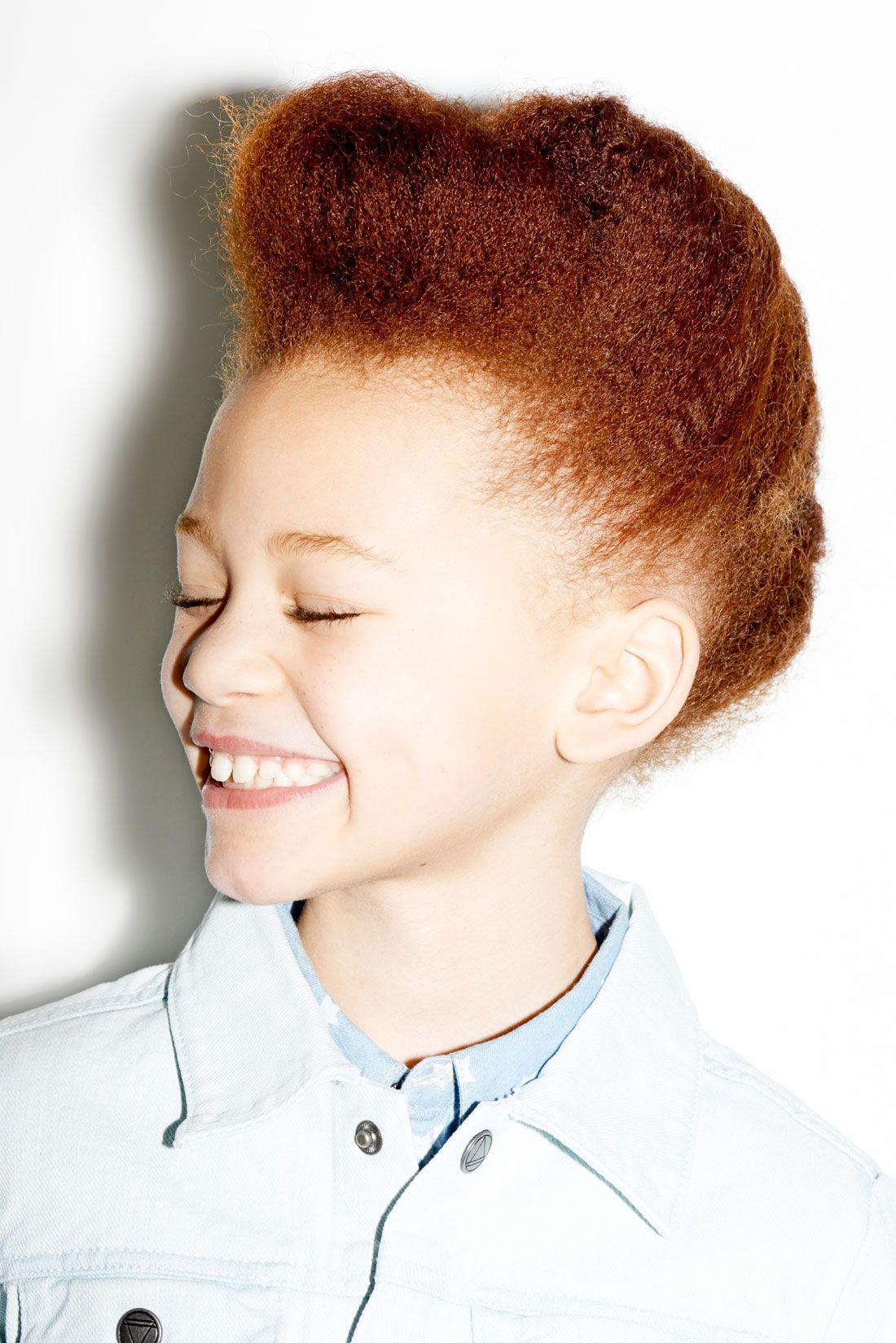 Serie Mode Smile Please Cheveux Roux Naturel Cheveux D Enfant Cheveux Roux