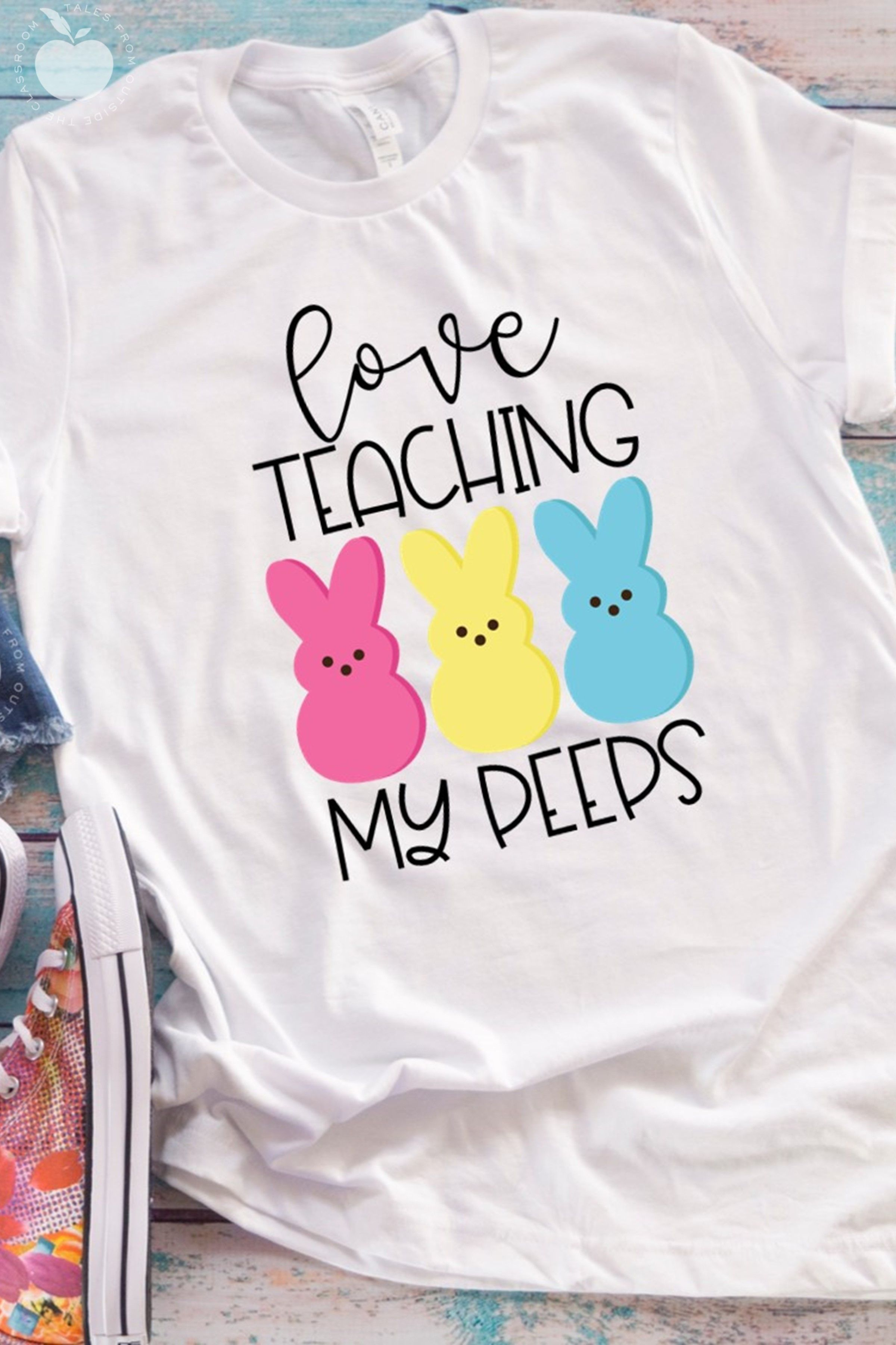 Special Ed Teacher Of The Most Awesome Peeps Tshirt Gift Idea For Youth Boy Girl Men Women Birthday Party Teen Matching Squad Easter Day