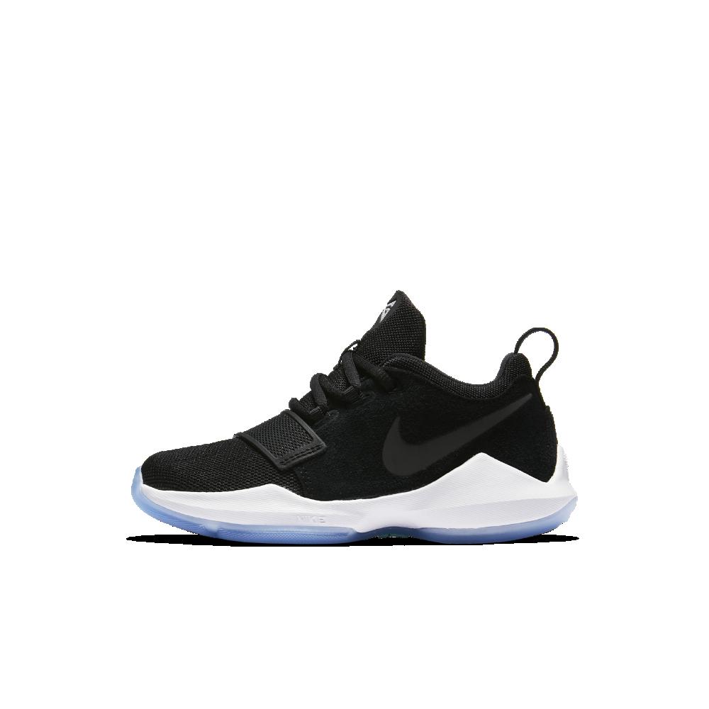 Nike PG 1 Little Kids' Basketball Shoe Size 13C (Black)