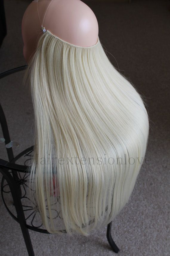 Halo Syn Magic wire hair extension /140 by Hairextensionlove ...