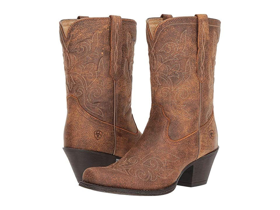 a935489e0e8 Ariat Round Up Rylan Cowboy Boots Vintage Bomber | Products | Shoe ...