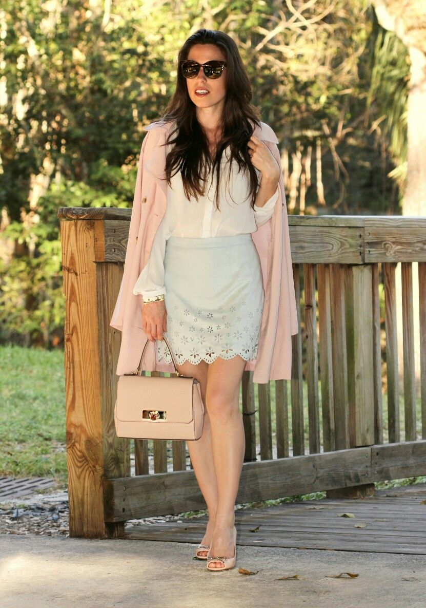 BLUSH COAT www.anaflorentina.com Miami Style Blogger | My Daily ...