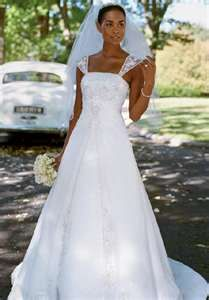 My wedding dress :-)