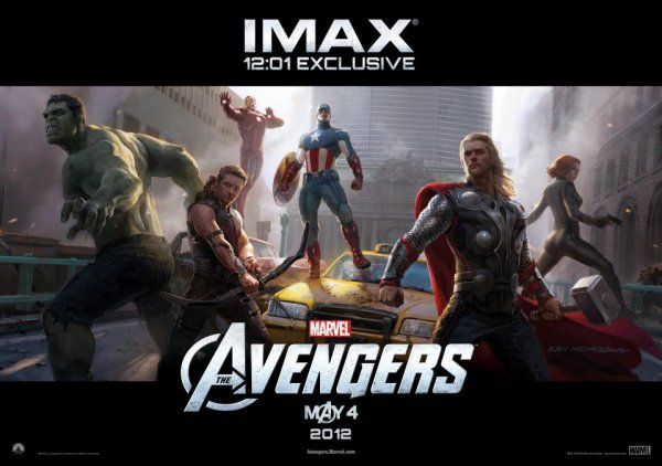 The Avengers (2012): IMAX Midnight Movie Poster Revealed